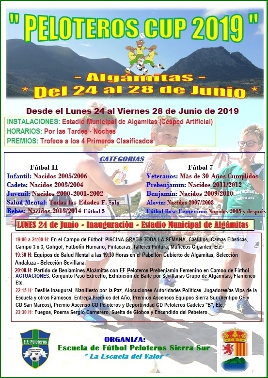 PELOTEROS CUP 2019